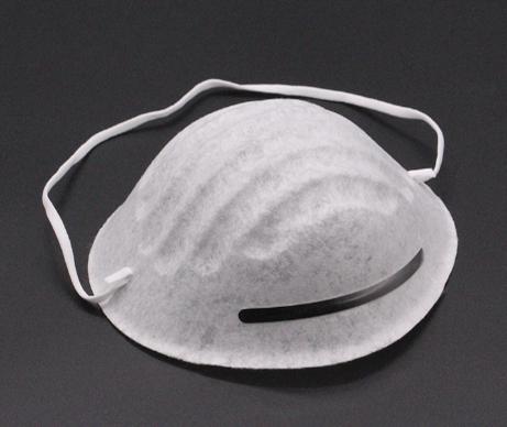针刺无纺布可用于杯型口罩